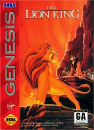 Box cover for Lion King, The on the Sega Nomad.