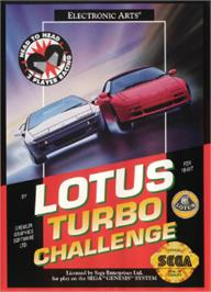 Box cover for Lotus Turbo Challenge 2 on the Sega Nomad.