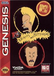 Box cover for MTV's Beavis and Butthead on the Sega Nomad.