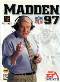 Box cover for Madden NFL '97 on the Sega Nomad.