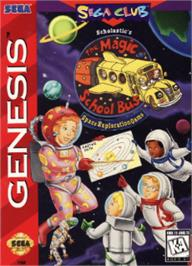 Box cover for Magic School Bus, The on the Sega Nomad.