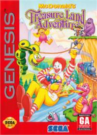Box cover for McDonald's Treasure Land Adventure on the Sega Nomad.