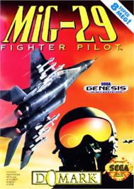 Box cover for Mig-29 Fighter Pilot on the Sega Nomad.