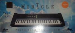Box cover for Miracle Piano Teaching System on the Sega Nomad.