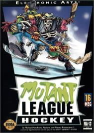 Box cover for Mutant League Hockey on the Sega Nomad.