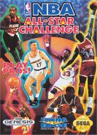 Box cover for NBA All-Star Challenge on the Sega Nomad.