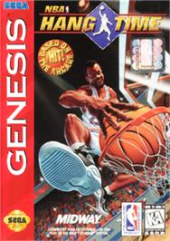 Box cover for NBA Hang Time on the Sega Nomad.