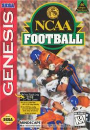 Box cover for NCAA Football on the Sega Nomad.