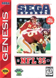 Box cover for NFL '95 on the Sega Nomad.