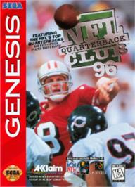 Box cover for NFL Quarterback Club '96 on the Sega Nomad.