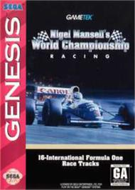Box cover for Nigel Mansell's World Championship on the Sega Nomad.