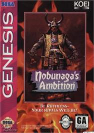 Box cover for Nobunaga's Ambition on the Sega Nomad.