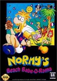 Box cover for Normy's Beach Babe-O-Rama on the Sega Nomad.