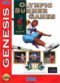 Box cover for Olympic Summer Games on the Sega Nomad.