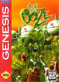 Box cover for Ooze, The on the Sega Nomad.
