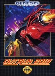 Box cover for Out Run 2019 on the Sega Nomad.