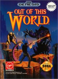 Box cover for Out of This World on the Sega Nomad.