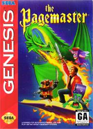 Box cover for Pagemaster, The on the Sega Nomad.