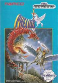 Box cover for Phelios on the Sega Nomad.