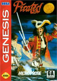 Box cover for Pirates! Gold on the Sega Nomad.