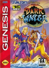 Box cover for Pirates of Dark Water, The on the Sega Nomad.