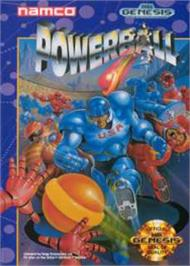 Box cover for Power Ball on the Sega Nomad.