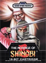 Box cover for Revenge of Shinobi, The on the Sega Nomad.