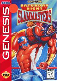 Box cover for Saturday Night Slam Masters on the Sega Nomad.
