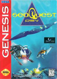 Box cover for SeaQuest DSV on the Sega Nomad.