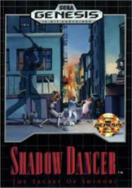 Box cover for Shadow Dancer: The Secret of Shinobi on the Sega Nomad.