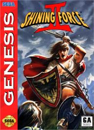 Box cover for Shining Force 2 on the Sega Nomad.