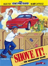 Box cover for Shove It! The Warehouse Game on the Sega Nomad.