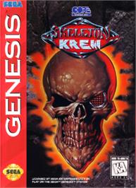 Box cover for Skeleton Krew on the Sega Nomad.