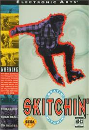 Box cover for Skitchin' on the Sega Nomad.