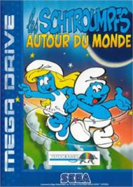 Box cover for Smurfs Travel the World, The on the Sega Nomad.