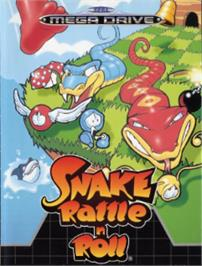 Box cover for Snake Rattle 'n Roll on the Sega Nomad.