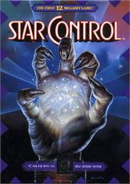 Box cover for Star Control on the Sega Nomad.