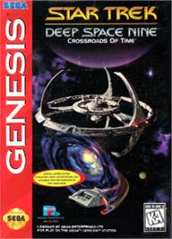 Box cover for Star Trek Deep Space Nine - Crossroads of Time on the Sega Nomad.