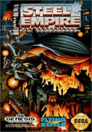 Box cover for Steel Empire, The on the Sega Nomad.