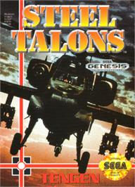 Box cover for Steel Talons on the Sega Nomad.