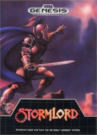 Box cover for Stormlord on the Sega Nomad.