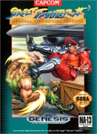 Box cover for Street Fighter II' - Champion Edition on the Sega Nomad.