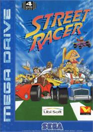 Box cover for Street Racer on the Sega Nomad.