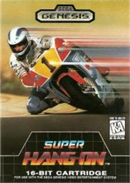Box cover for Super Hang-On on the Sega Nomad.