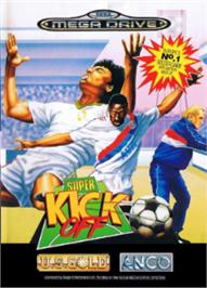 Box cover for Super Kick Off on the Sega Nomad.