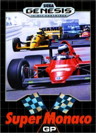 Box cover for Super Monaco GP on the Sega Nomad.