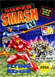 Box cover for Super Smash T.V. on the Sega Nomad.