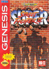 Box cover for Super Street Fighter II - The New Challengers on the Sega Nomad.