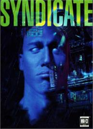 Box cover for Syndicate on the Sega Nomad.
