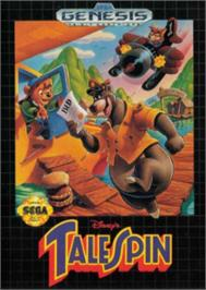 Box cover for TaleSpin on the Sega Nomad.